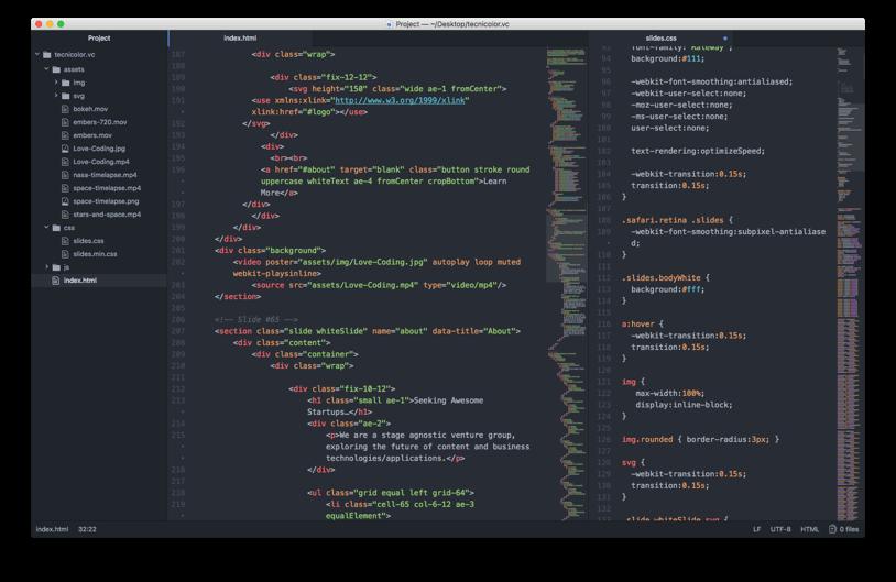 Atom IDE - HTML & CSS